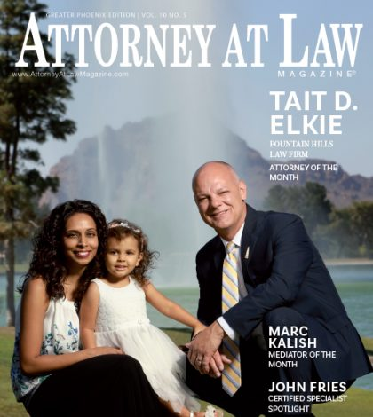 Attorney of the Month Magazine Cover