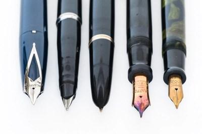 Fountain Pen Nib Breather Hole