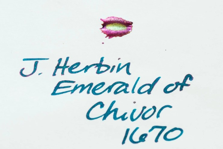 what is sheen j herbin emerald of chivor sheen