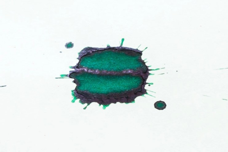 what is sheen diamine sherwood green fountain pen ink