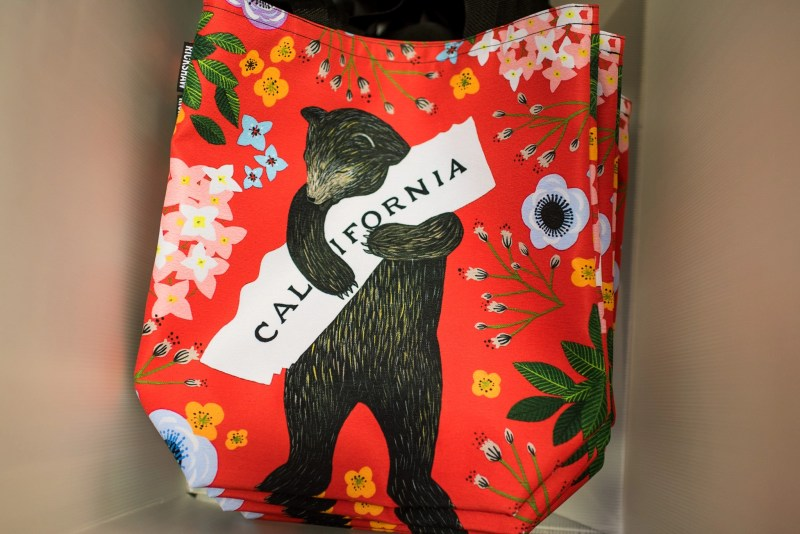 Rickshaw bags pen sleeves California bear bag