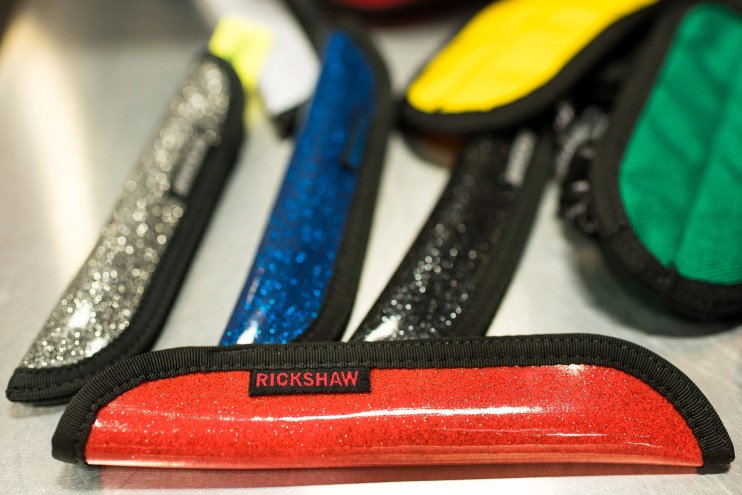 Rickshaw bags pen sleeves sparkle vinyl
