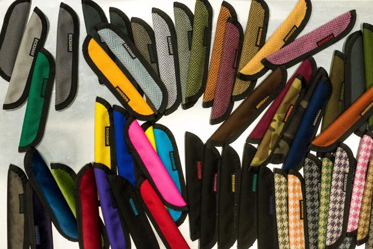 Rickshaw bags pen sleeves variety
