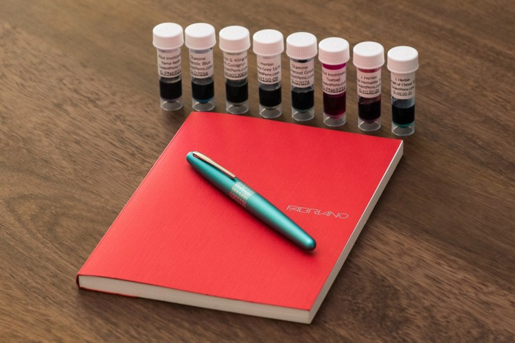 beginner fountain pen kit giveaway goulet sheen samples