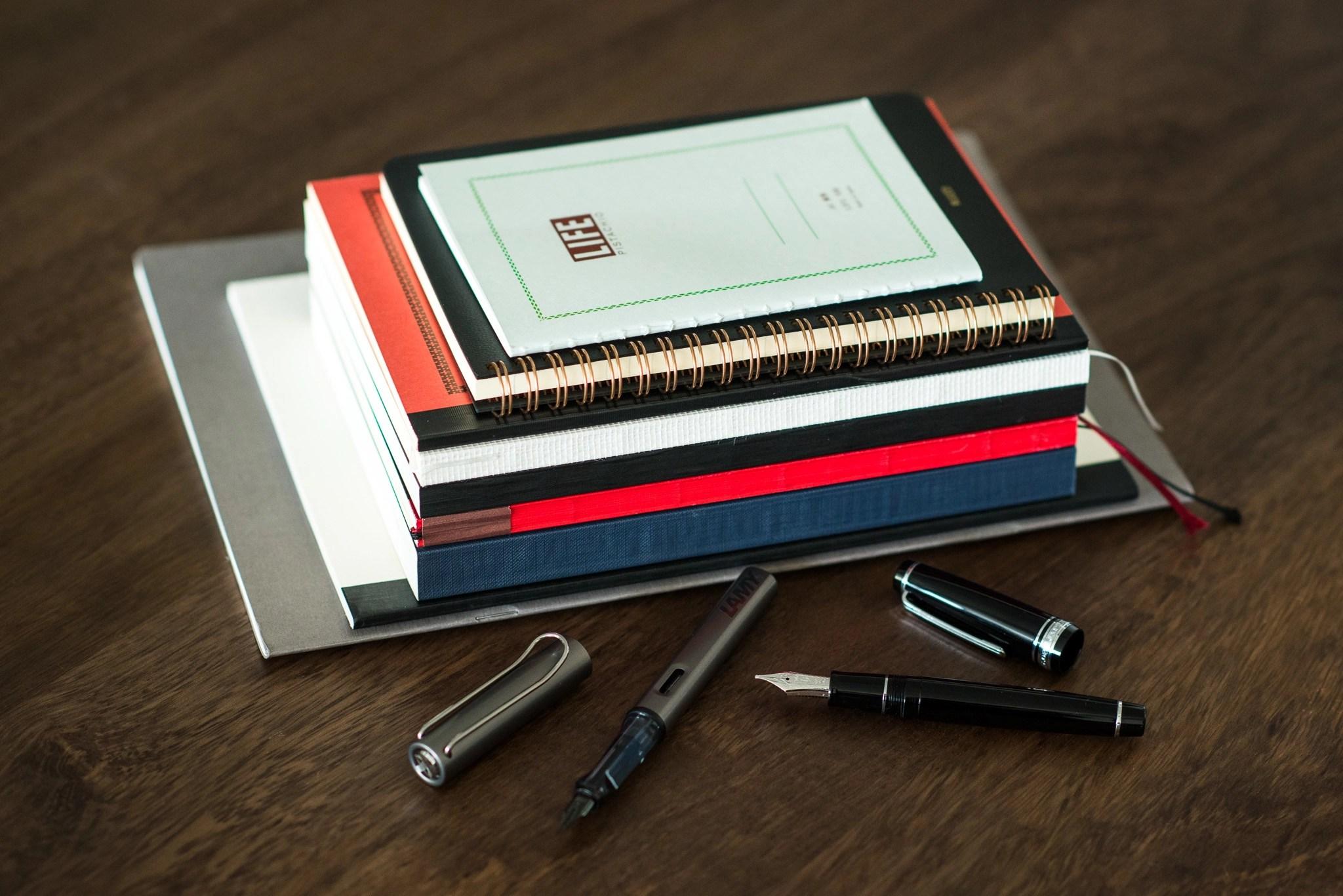 Fountain Pen Friendly Notebooks - A Big Roundup - Fountain Pen Love