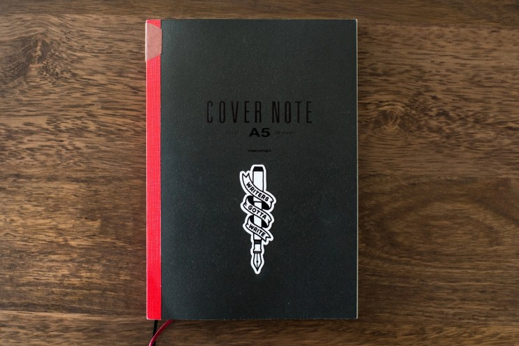 fountain pen friendly notebooks maruman cover note