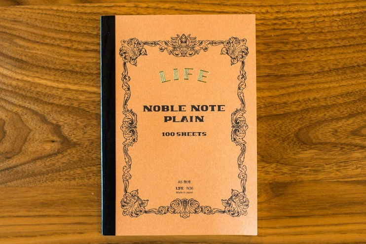Life noble notebook fountain pen friendly paper