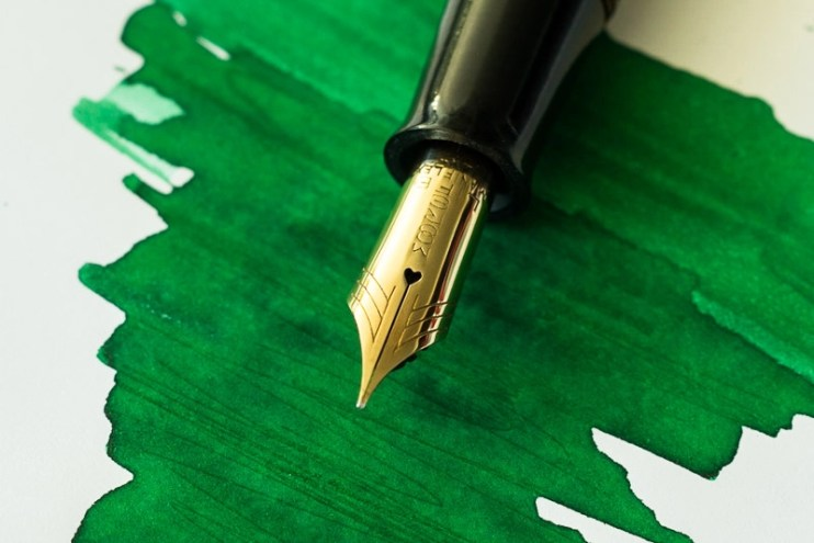 how to polish a fountain pen nib moore maniflex