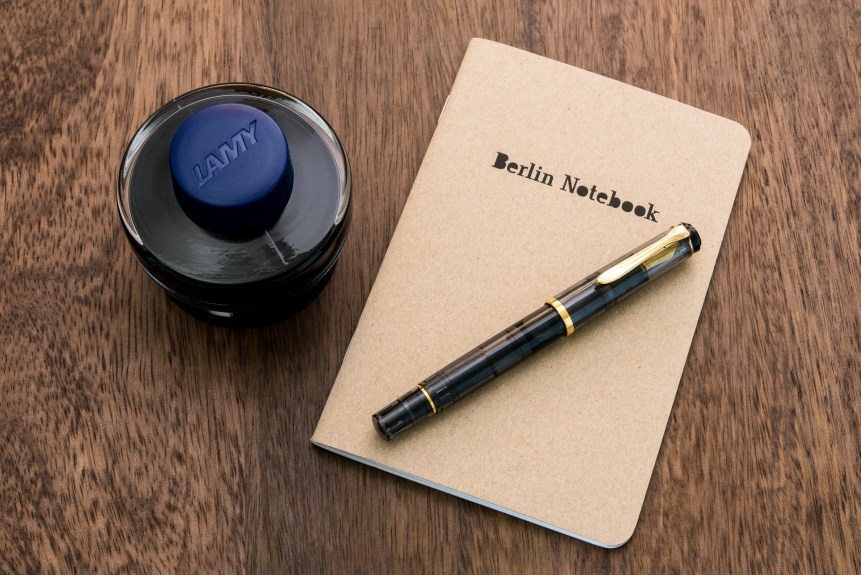 berlin notebook fountain pen friendly paper