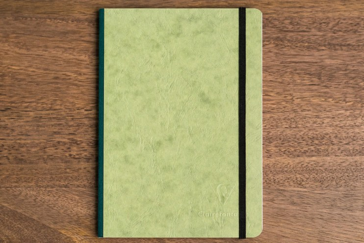 Clairefontaine basics clothbound notebook review cover