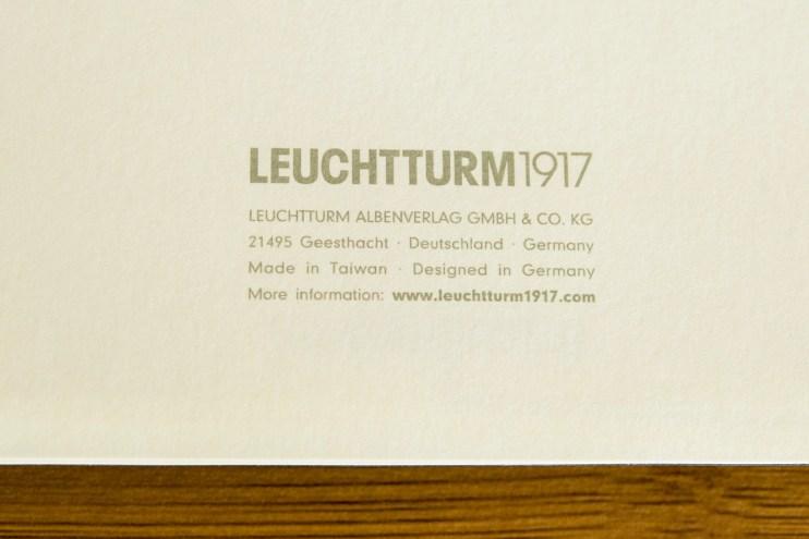 Leuchtturm1917 softcover notebook review
