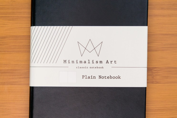 Minimalism Art Notebook Review Cover