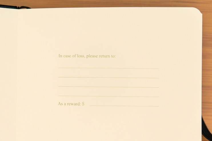 Minimalism Art Notebook Review name