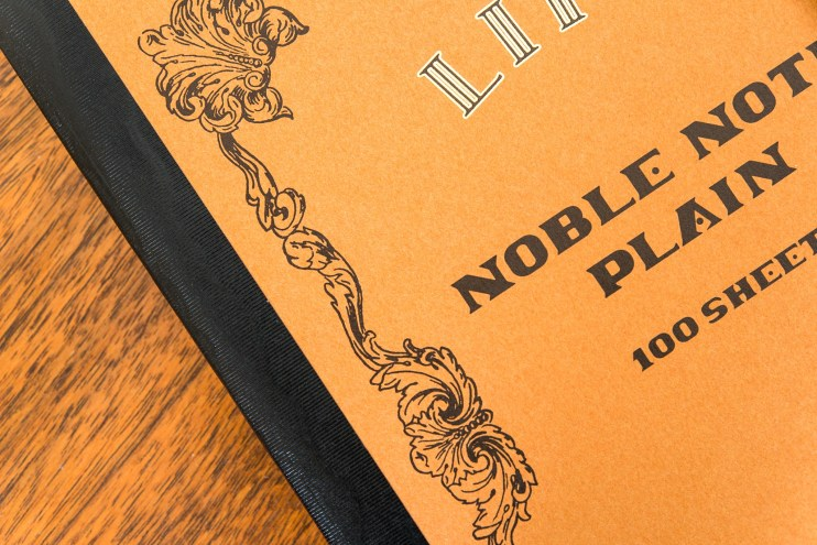 Life Noble Note Notebook Review front