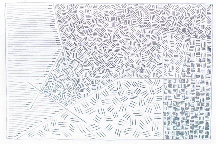 caran d'ache infinite grey fountain pen ink doodle