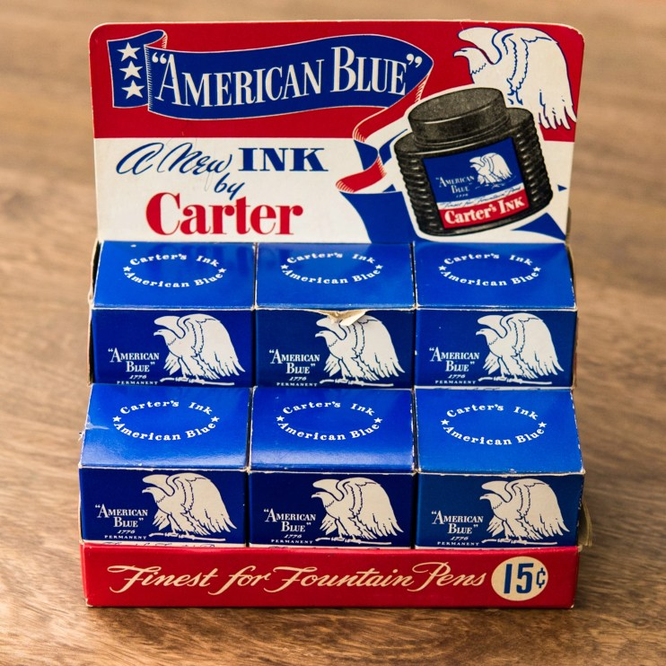 Is it safe to use old fountain pen inks carter ink case