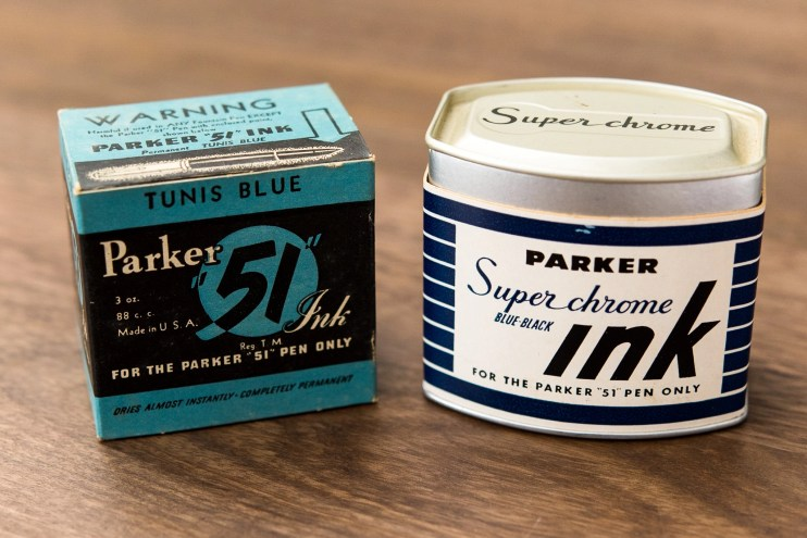 Is it safe to use old fountain pen inks parker superchrome