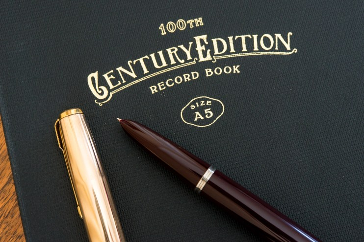 Kokuyo Century Edition Notebook review parker 51