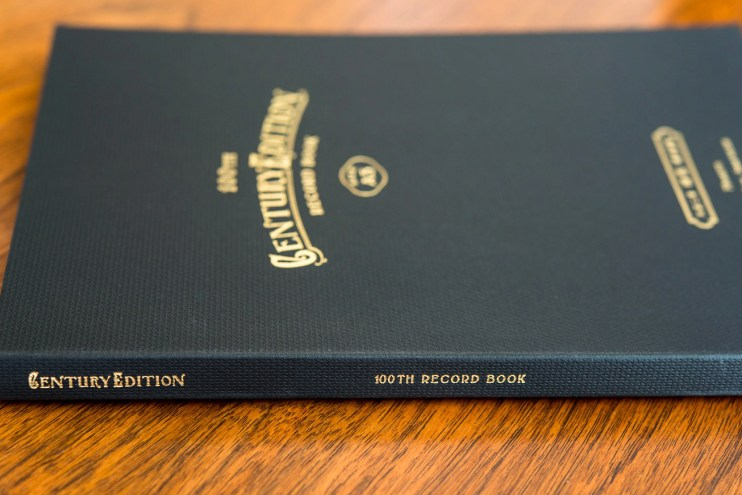 Kokuyo Century Edition Notebook review spine