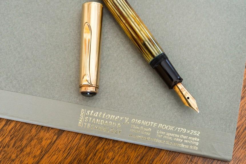 Stalogy 016 fountain pen friendly Notebook Pelikan 500