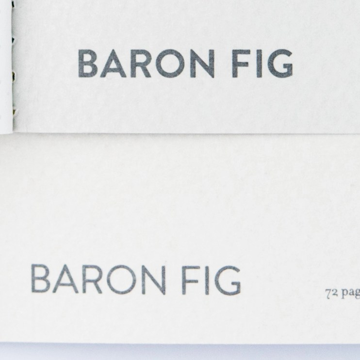 Baron Fig Vanguard Notebook Comparison logo