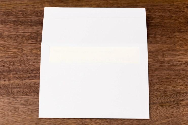 Azaza A7 Envelope Review showthrough