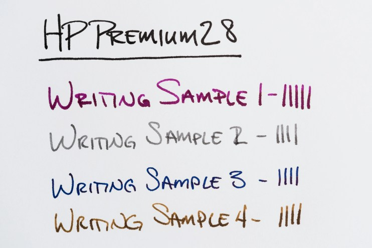 HP Premium32 paper review 28 writing sample