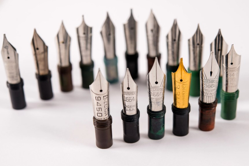 Esterbrook nib assortment