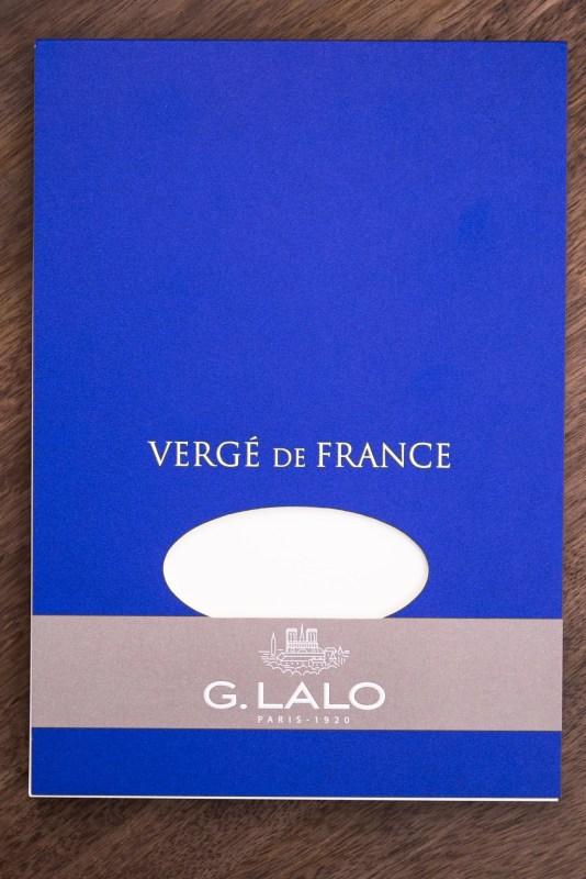 G Lalo Verge de France paper pad