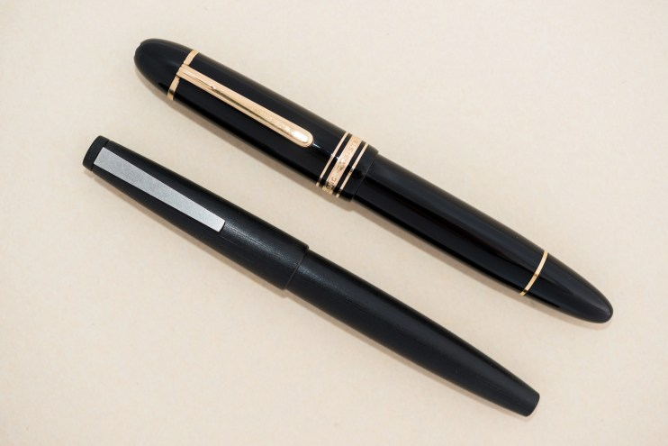expensive versus inexpensive fountain pen difference lamy 2000 montblanc 149