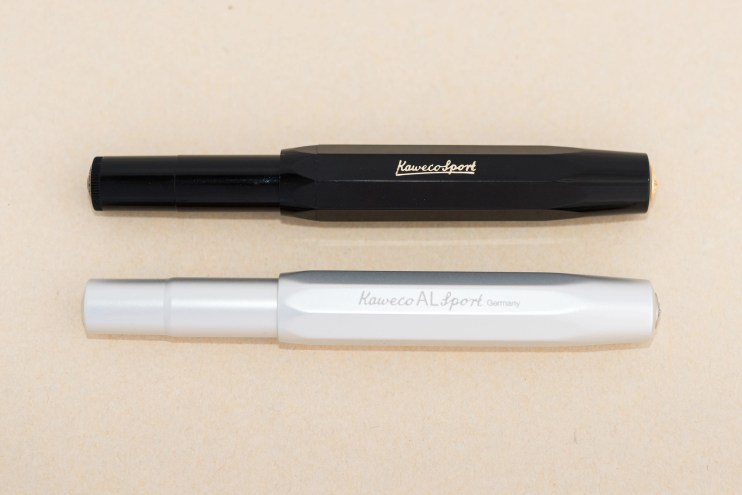expensive versus inexpensive fountain pen difference kaweco al sport