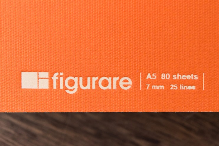 Figurare Notebook cover detail