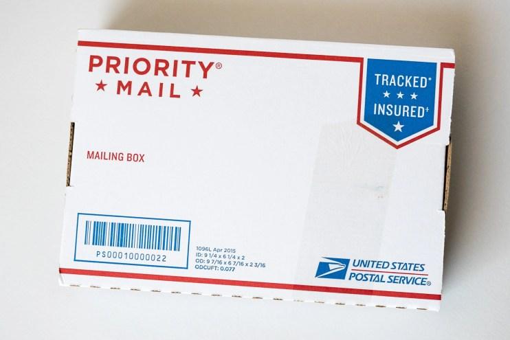 goulet pens shipping box