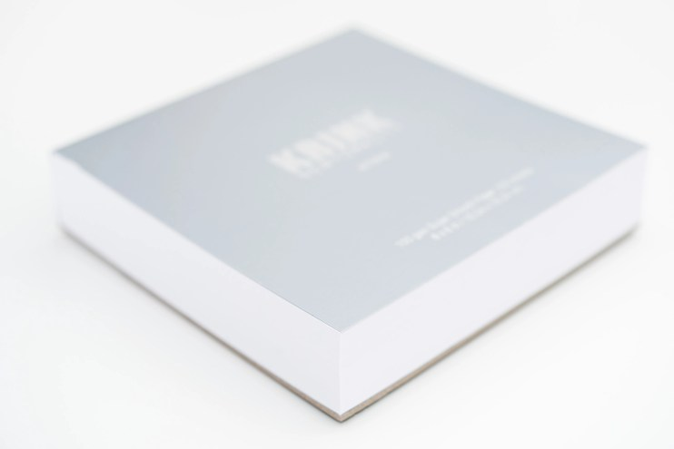 Krink notepad side view