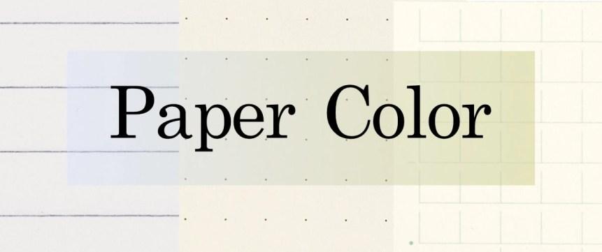 Paper Color Header Image