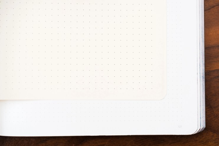 Nuuna notebook review 3.5 mm grid