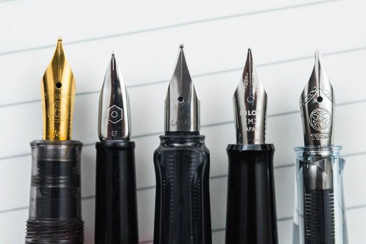 choosing a fountain pen nib for beginners steel nibs
