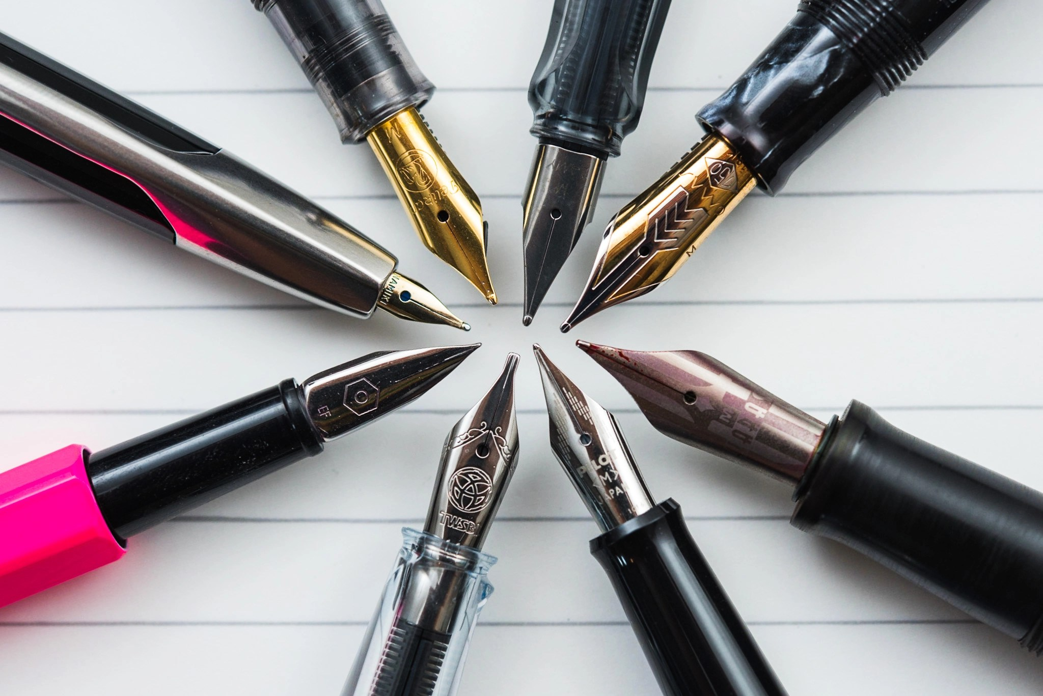 Fountain Pen Nib Options For Beginners - How To Choose Your New Nib - Fountain Pen Love