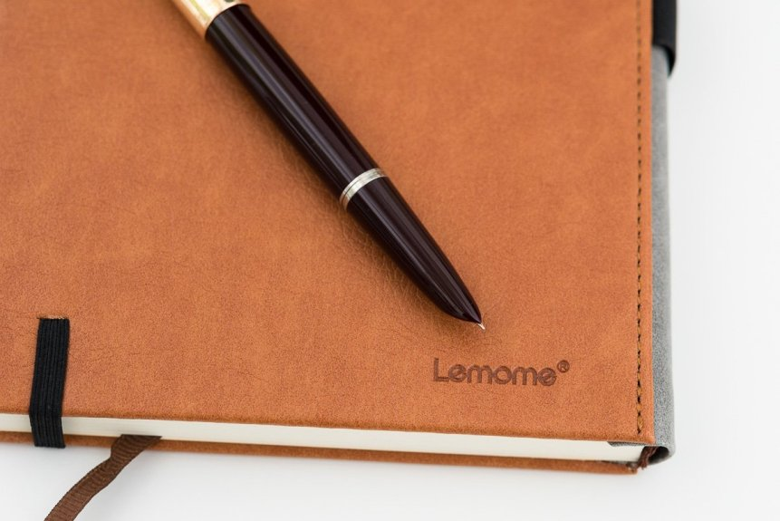 Lemone Notebook Review with parker 51