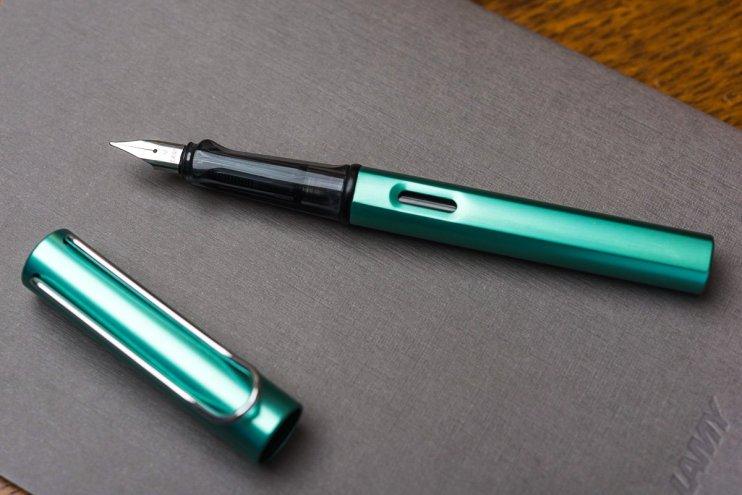 Lamy AL-Star fountain pen ink window