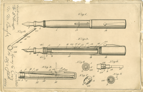 Drawing by Harvey Green Craig for Patent 1,242,323