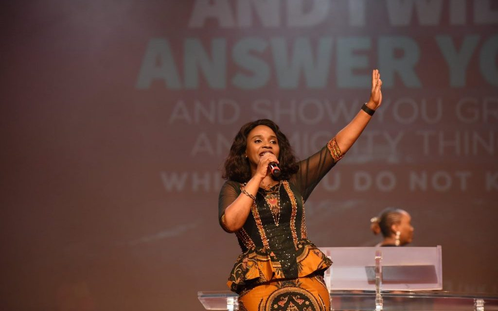 Pastor Nomthi Charges Believers to Call on God Always