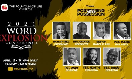 Word Explosion Conference 2021 Begins Monday (See Programme Schedule)