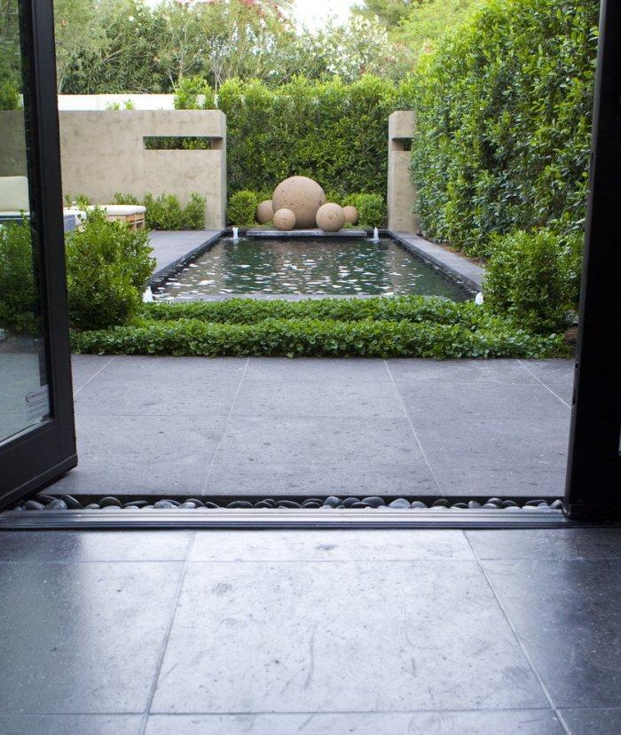 Minimalist Garden Design Ideas for Trendy Homes | Founterior on Minimalist Backyard Design id=14861