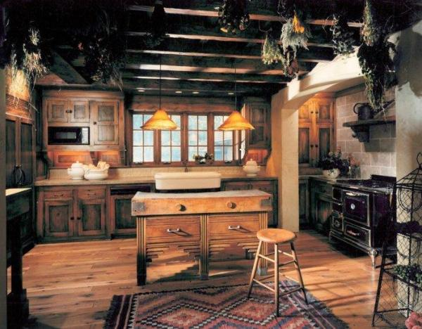 16 Ways to Create a Cozy Rustic Kitchen Interior Design ...