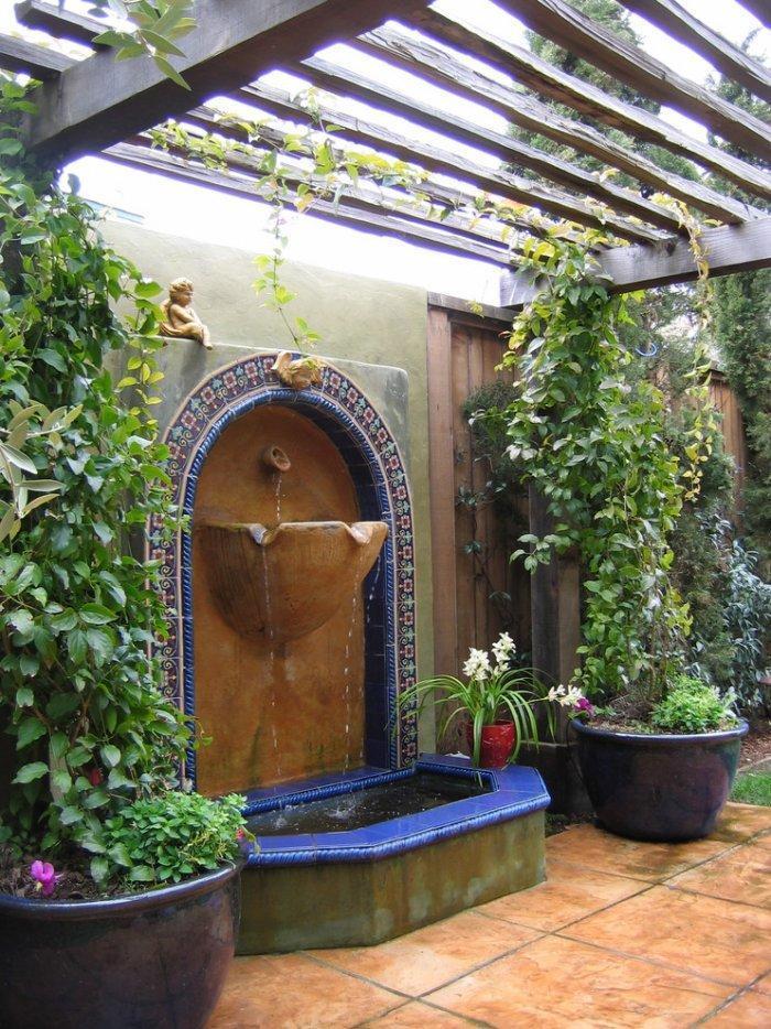 Landscape Design Ideas - The Mediterranean Garden ... on Small Mediterranean Patio Ideas id=86586