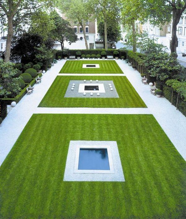 Minimalist Trendy Garden Ideas with Tiles and Pools ... on Minimalist Backyard Design id=63896