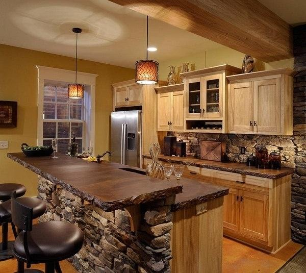 Impressive Rustic Cabin and Cottage Interior Designs ... on Rustic:mophcifcrpe= Cottage Kitchen Ideas  id=46640