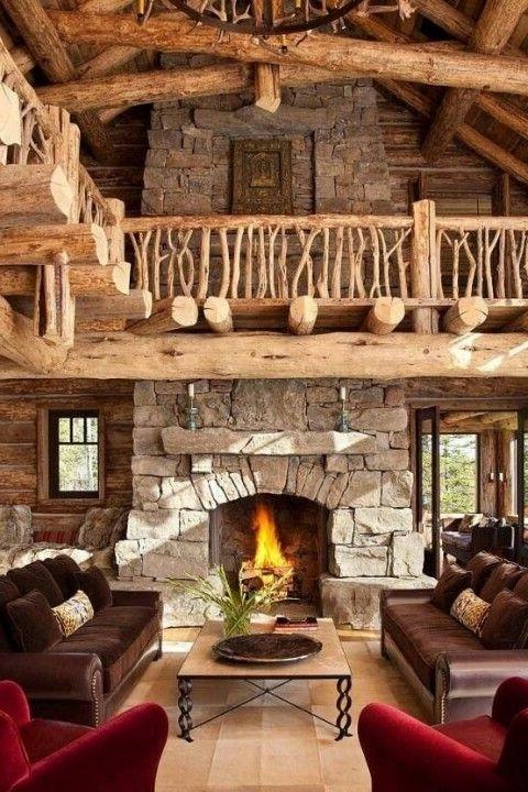 Impressive Rustic Cabin And Cottage Interior Designs Founterior
