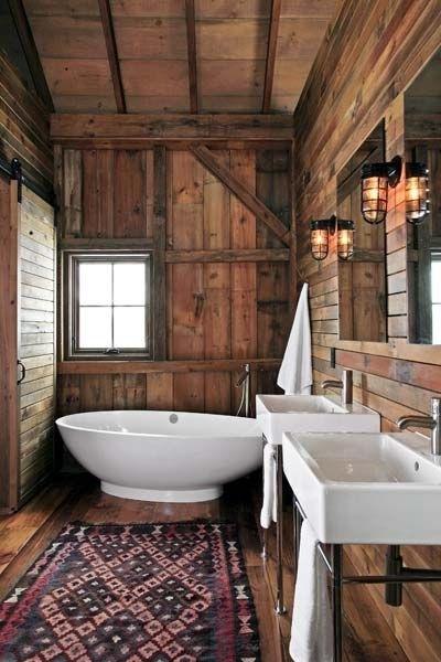 Impressive Rustic Cabin And Cottage Interior Designs